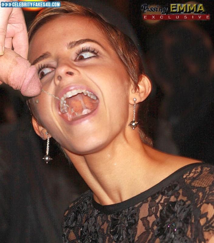 Emma Watson Fake, Cumshot, Sex, Swallowing Cum, Porn
