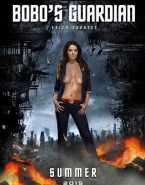 Erica Durance Exposed Boobs Movie Cover Porn 001