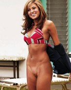 Eva Mendes No Panties Undressing Nudes 001