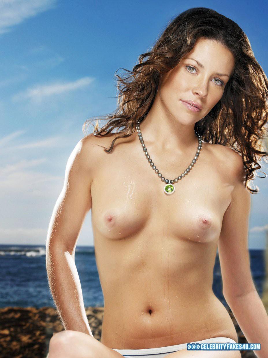 Evangeline Lilly Wet Breasts 002  Celebrityfakes4Ucom-7907