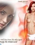 Famke Janssen Topless X Men Fake 001