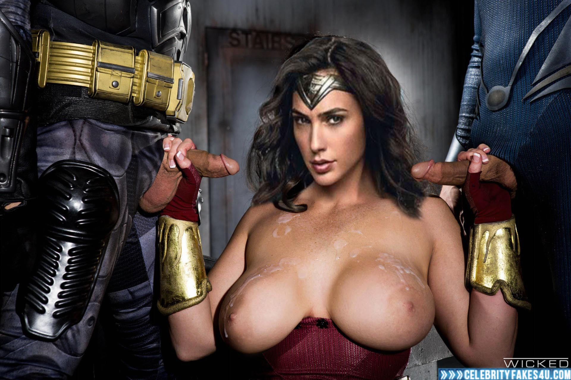 Gal Gadot Fake, Big Tits, Cumshot, Gangbang, Handjob, Justice League, Series, Sex, Tits, Wonder Woman, Porn