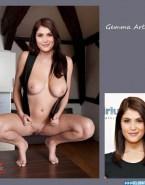 Gemma Arterton Big Tits Legs Spread Pussy Nsfw Fake 001