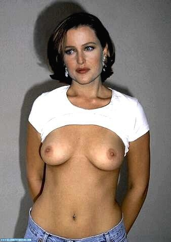 Gillian Anderson Fake, Homemade, Tits, Porn