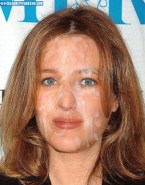 Gillian Anderson Cumshot Facial Nsfw 001
