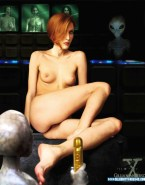 Gillian Anderson Dildo The X Files Nsfw 001