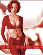 Gillian Anderson Hot Tits 001