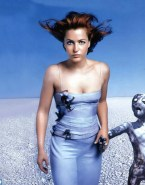Gillian Anderson Naked The X Files 001
