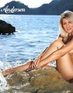 Gillian Anderson Porn Wet 001