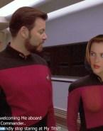 Gillian Anderson Star Trek See Thru Porn 001