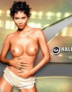 Halle Berry Horny Breasts Naked 001