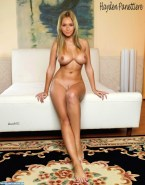 Hayden Panettiere Nice Tits Tan Lines Fake 001