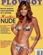 Heather Locklear Bikini Playboy Magazine Naked 001