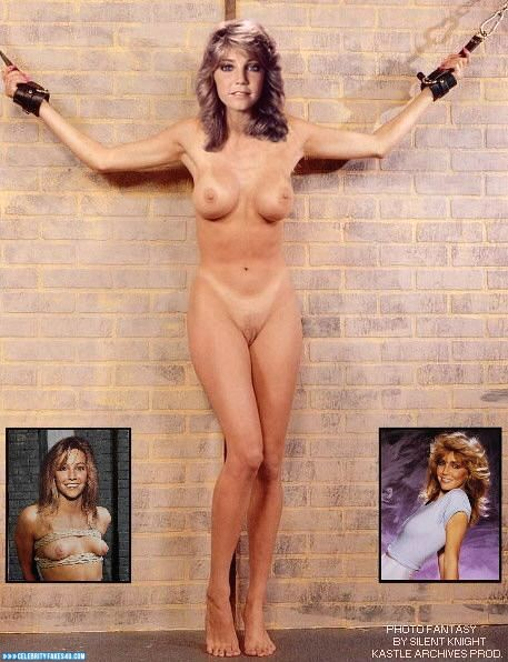 Heather Locklear Fake, BDSM, Bondage, Legs, Naked Body, Nude, Tan Lines, Tits, Porn