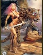 Heather Locklear Nude Cartoon 001