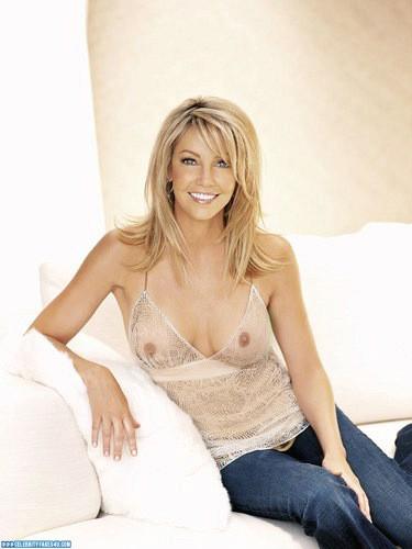Heather Locklear Fake, Blonde, Nude, See-Thru, Tits, Porn