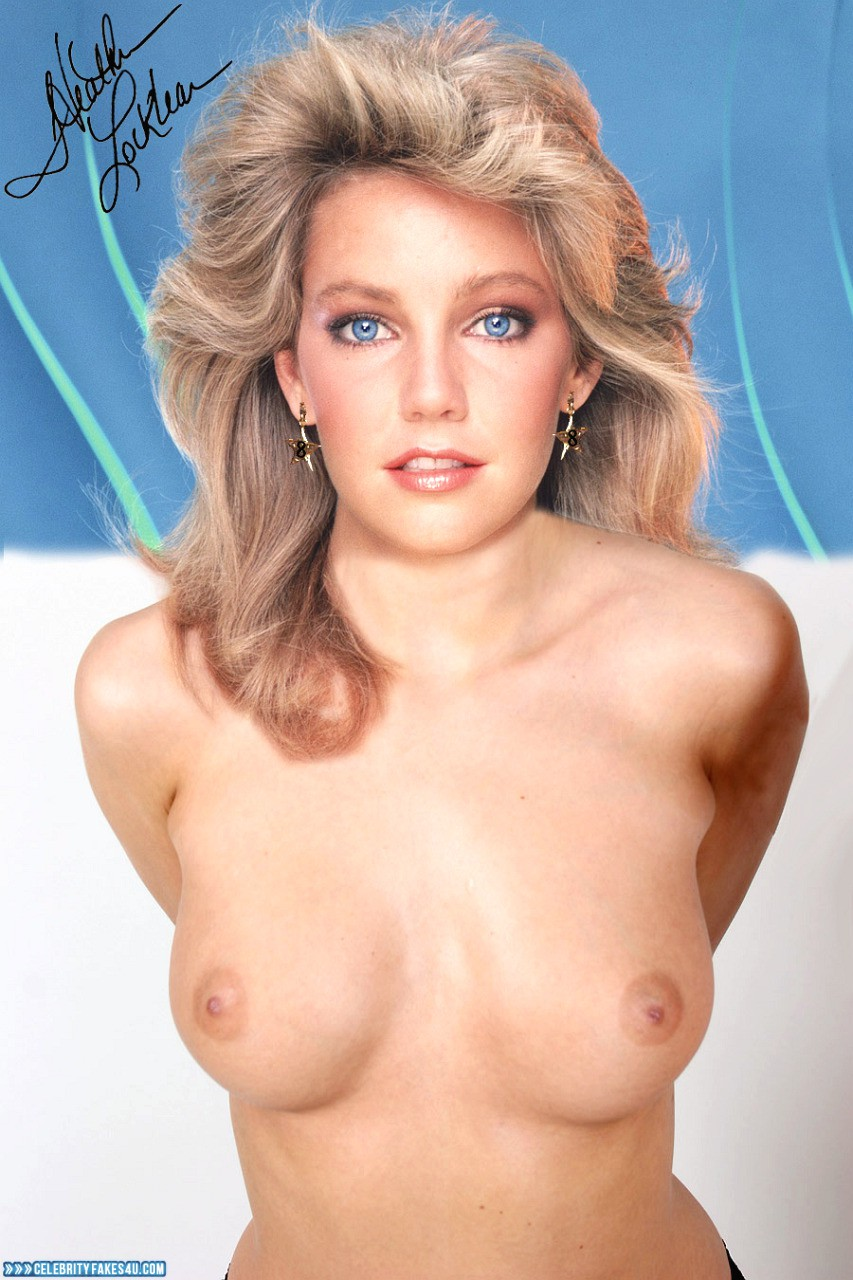 Heather locklear naked fake