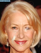 Helen Mirren Blonde Facial Porn 001