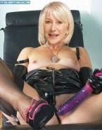 Helen Mirren Dildo Panties Aside Porn 001