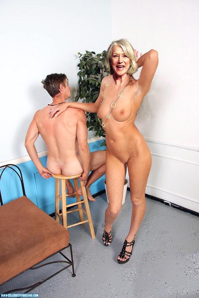 Helen Mirren Fake, Camel Toe, Hot Athletic Body, Sexy Legs, Tits, Porn