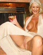 Helen Mirren Without Panties Perfectly Shaved Pussy Nudes 001