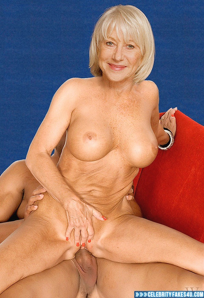 Helen Mirren Fake, Blonde, Deep Sex, Masturbating, Reverse Cowgirl Sex, Very Nice Tits, Porn