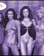 Holly Marie Combs Lingerie Charmed Nude Fake 001