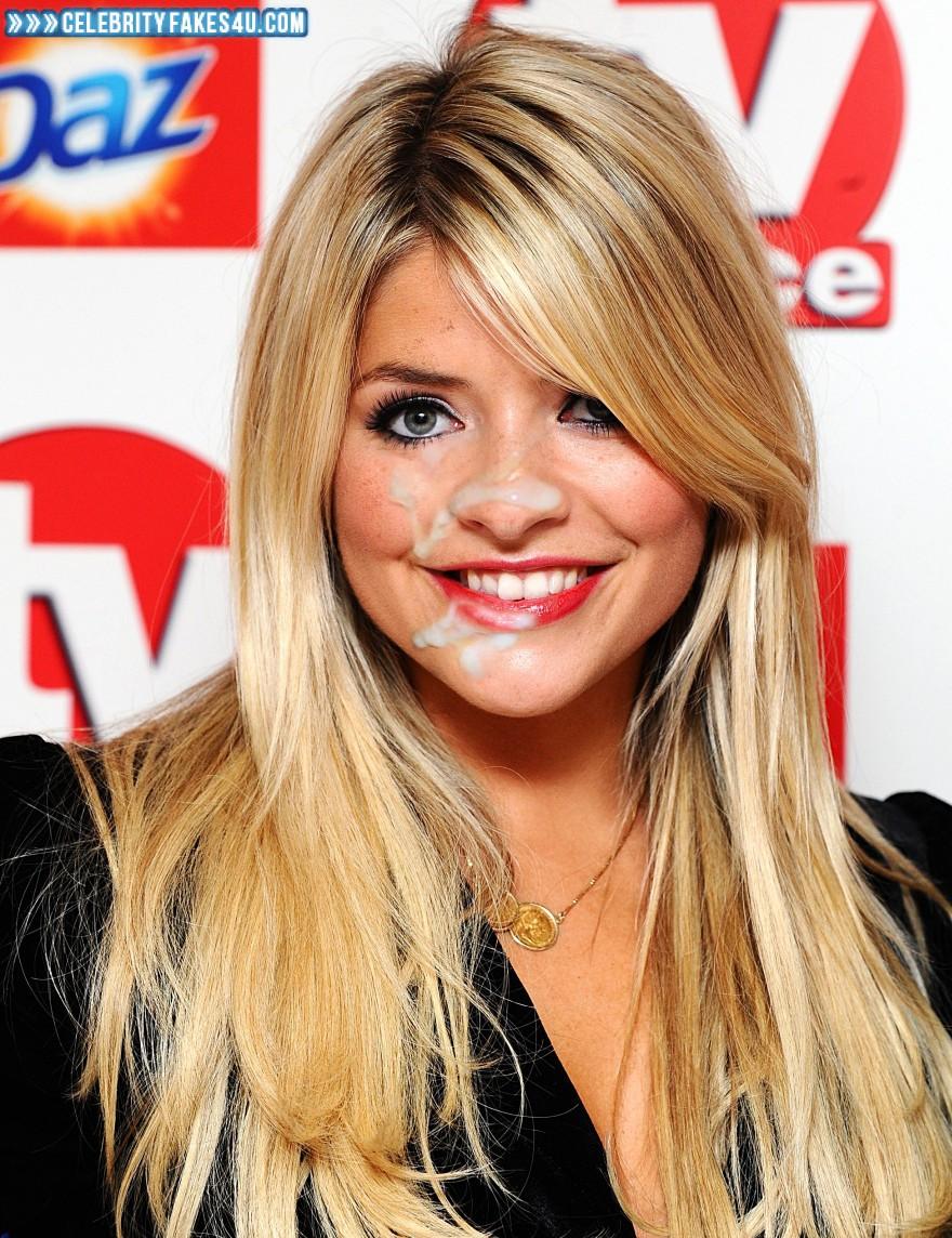 Holly Willoughby Public Cum Facial Porn Fake 001 « Celebrity Fakes 4u