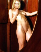 Jaime Pressly Naked Body Squeezing Tits 001