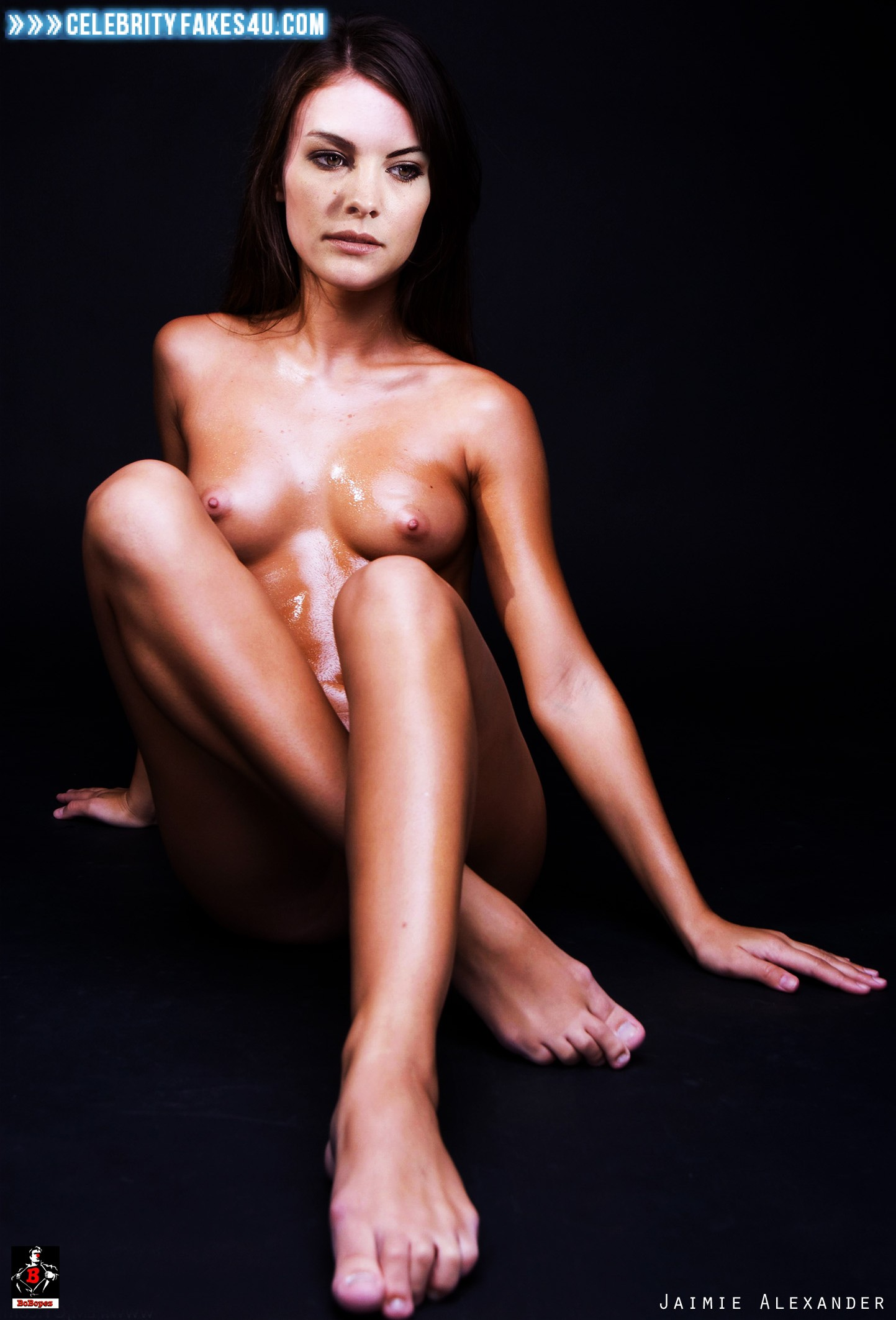 Jaimie alexander panties nude #3
