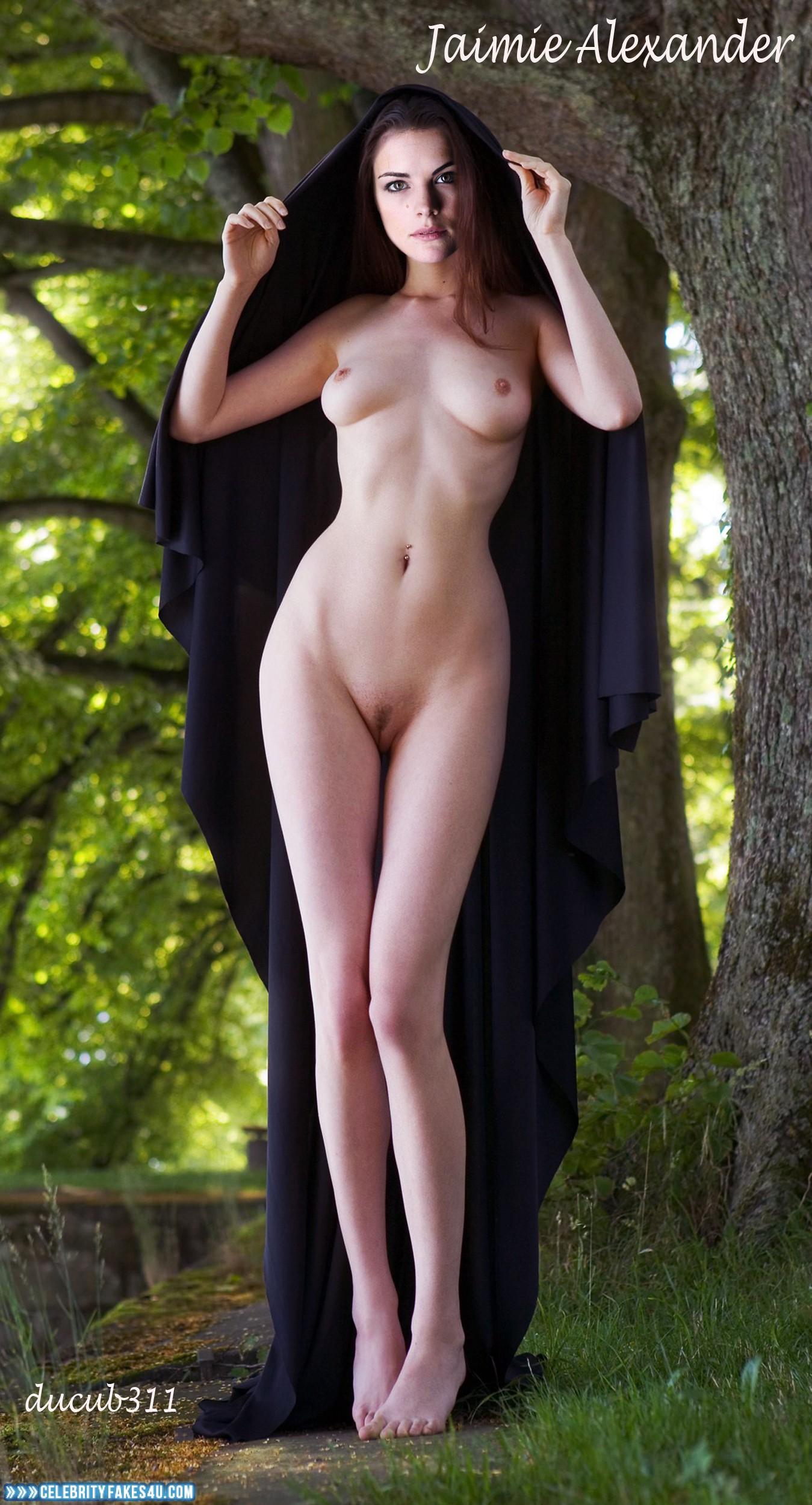Jaimie Alexander Nude Body Nice Tits 003  Celebrityfakes4Ucom-7790