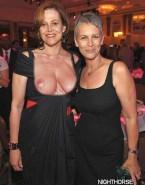 Jamie Lee Curtis Lesbian Public Nude 001
