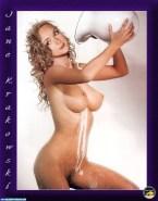 Jane Krakowski Wet Breasts Naked Fake 001