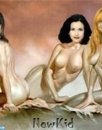Jennifer Aniston Cartoon Lesbian Naked 001