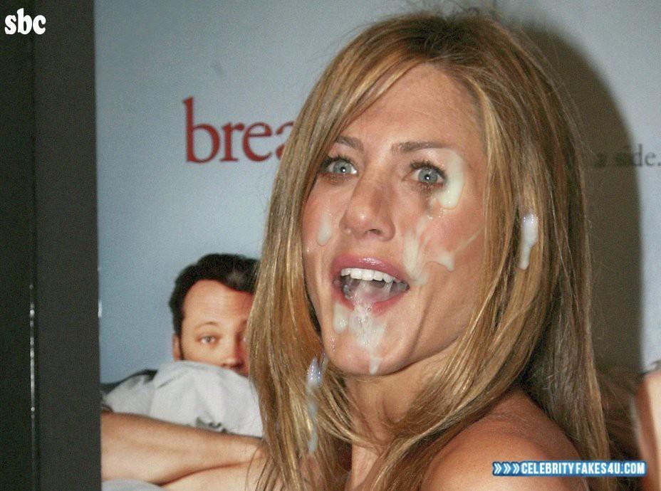 Jennifer Aniston Facial Cumshot Porn 001 Â« Celebrity Fakes 4U