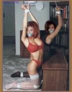 Jennifer Aniston Lingerie Bondage Naked 001