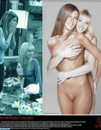 Jennifer Aniston Squeezing Tits Friends Nsfw 001