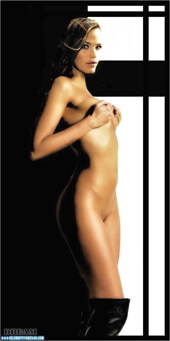 Jennifer Garner Fake, Naked Body, Squeezing Breasts, Porn