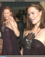 Jennifer Garner Red Carpet See Thru Naked 001