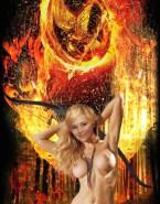 Jennifer Lawrence Hunger Games Nice Tits Nude 001