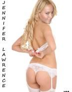 Jennifer Lawrence Thong Lingerie 003