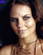Jennifer Morrison Horny Facial Cumshot Naked 001