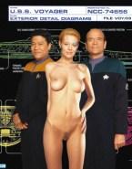 Jeri Ryan Nude Body Nice Tits 002