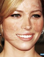 Jessica Biel Facial Cumshot Fake 001