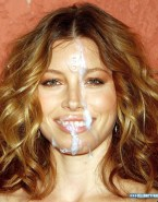 Jessica Biel Facial Cumshot Fake 002