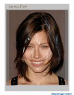 Jessica Biel Facial Cumshot Nude Fake 001
