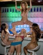 Jessica Biel Lesbian Public Nsfw Fake 001