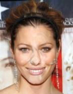 Jessica Biel Public Cumshot Facial Xxx Fake 002