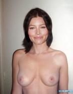 Jessica Biel Tits Homemade Hacked Nude Fake 001
