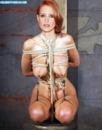 Jessica Chastain Nip Torture Bondage Fake 001
